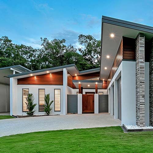 exterior cladding options for houses North QLD