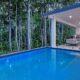 Linden Custom Built Homes Pool Area
