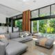 Ribbon Custom Built Homes Living Room Layout
