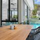 Upolo dining area custom home builder