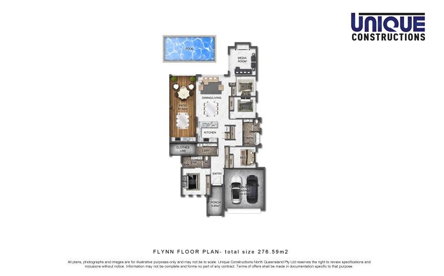 Flynn 4 bedroom House Plan