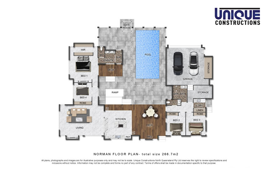 Norman Floorplan new home builder Cairns