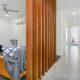 Undine Custom Built Homes Hallway Tv Room