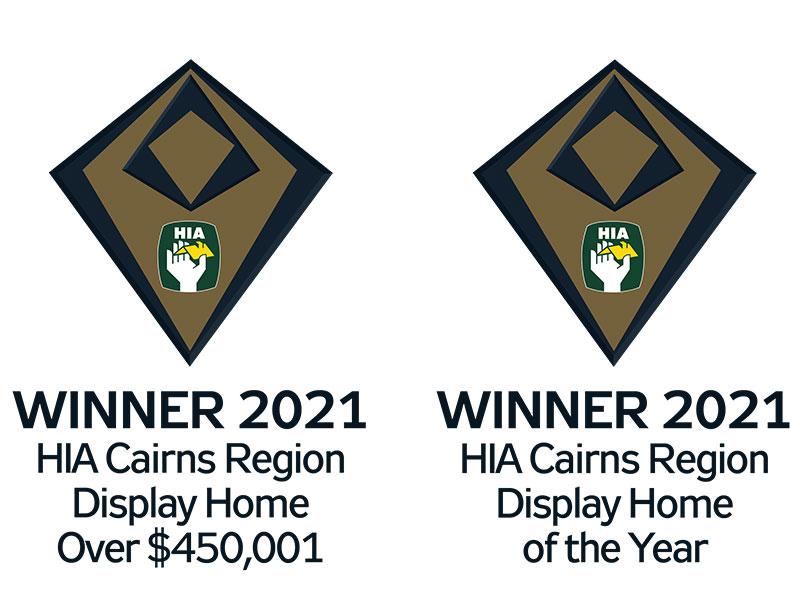 HIA award winning display home Cairns
